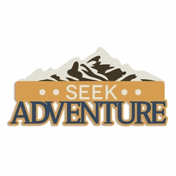 Winter Cabin: Seek Adventure Laser Die Cut