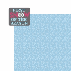 Winter: First Snow 2 Piece Laser Die Cut Kit