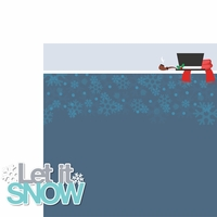 Winter Fun: Let It Snow 2 Piece Laser Die Cut Kit