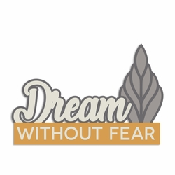 Winter Owl: Dream without Fear Laser Die Cut