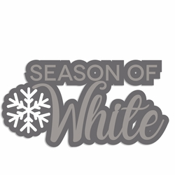 Winter Owl: Season of White Laser Die Cut