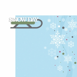 Winter: Snow Day 2 Piece Laser Die Cut Kit