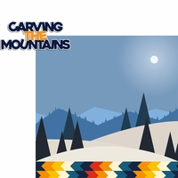 Winter Sports: Carving The Mountains 2 Piece Laser Die Cut Kit