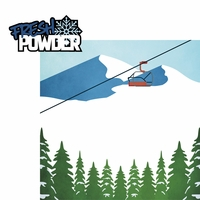 Winter Sports: Fresh Powder 2 Piece Laser Die Cut Kit