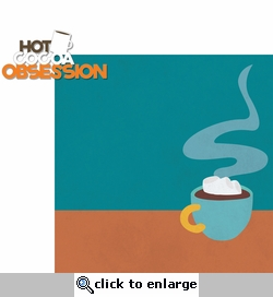 Winter Sports: Hot Cocoa Obsession 2 Piece Laser Die Cut Kit