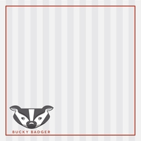 Wisconsin Badgers 12 x 12 Paper