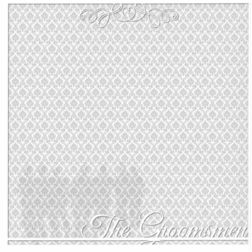 With This Ring: The Groomsmen 12 x 12 Overlay Quick page Laser Die Cut