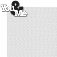 With This Ring: You & Me 2 Piece Laser Die Cut Kit