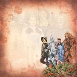 Wizard Of Oz Scrapbooking