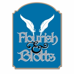 Wizard World London: Flourish and Blotts Laser Die Cut