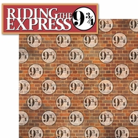 Wizard World London: Riding The Express 2 Piece Laser Die Cut Kit