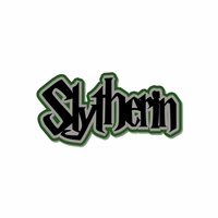Wizard World: Slytherin Laser Die Cut