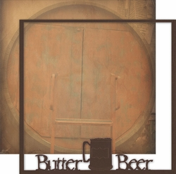 Wizarding World: Butter Beer 12 x 12 Overlay Quick page Laser Die Cut
