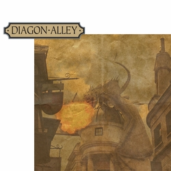 Wizarding World: Diagon Alley 2 Piece Laser Die Cut Kit