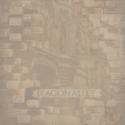 Wizarding World: DiagonAlley 12 x 12 Paper