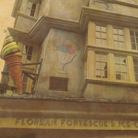 Wizarding World: Fortescue's Ice Cream 12 x 12 Paper