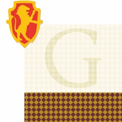 Wizarding World: Gryffindor 2 Piece Laser Die Cut Kit