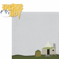 Wizarding World: Hagrids Hut 2 Piece Laser Die Cut Kit