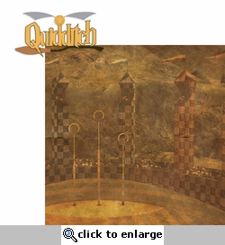 Wizarding World: Quidditch 2 Piece Laser Die Cut Kit