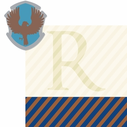 Wizarding World: Ravenclaw 2 Piece Laser Die Cut Kit