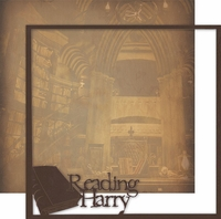 Wizarding World:Reading Harry 12 x 12 Overlay Quick page Laser Die Cut