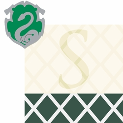 Wizarding World: Slytherin 2 Piece Laser Die Cut Kit