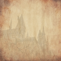 Wizarding World: Wizard Castle 12 x 12 Paper