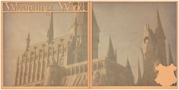 Wizarding World: Wizarding World Double 12 x 12 Overlay Quick page Laser Die Cut