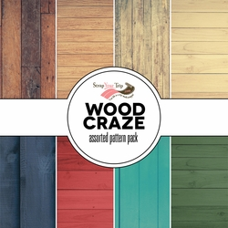 Wood Craze Assorted 12 x 12 Paper Pack
