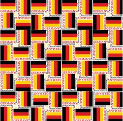 World Flags: Germany 12 x 12 Paper