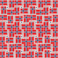 World Flags: Norway 12 x 12 Paper