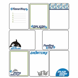 World of the Sea: Journaling Cards
