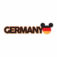 World Showcase: Germany Laser Die Cut