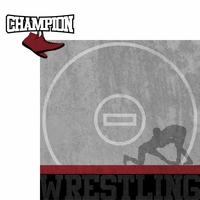 Wrestling: Champion 2 Piece Laser Die Cut Kit