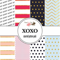 XOXO Pack Assorted 12 x 12 Paper Pack