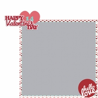 XOXO: Valentine's Day 2 Piece Laser Die Cut Kit