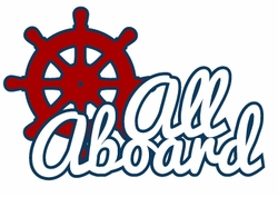 Yacht Club: All Aboard Laser Die Cut