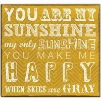 You Are My Sunshine 12 x 12 Scrapbook Album