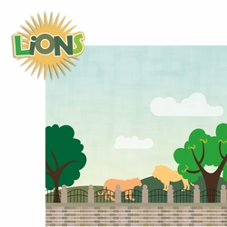 2SYT Zoo Days: Lions 2 Piece Laser Die Cut Kit