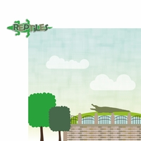 Zoo Days: Reptiles 2 Piece Laser Die Cut Kit
