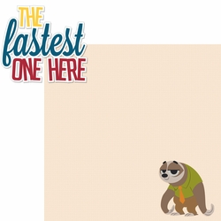 Zootopia: Fastest One Here 2 Piece Laser Die Cut Kit