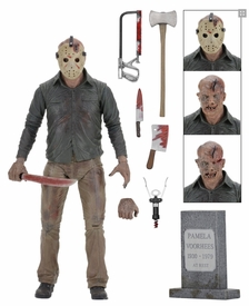 39716: NECA Friday the 13th – 7″ Scale Action Figure – Ultimate Part 4 Jason