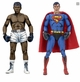 42074: NECA DC Comics Action Figures � Superman vs Muhammad Ali Special Edition 2-Pack