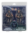 51643: NECA Aliens � 7� Scale Action Figures � Colonial Marines 30th Anniversary 2-Pack