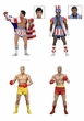 53073-4: Rocky 40th Anniversary � 7″ Scale Action Figure � Series 2 Rocky IV Assortment  (4 figures)