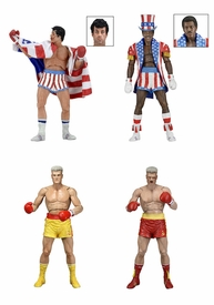 53073-4: Rocky 40th Anniversary – 7″ Scale Action Figure – Series 2 Rocky IV Assortment  (4 figures)