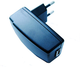 i.Trek AC Wall Plug to 5V USB Adapter (EU Plug)