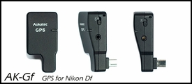 AK-Gf: Aokatec GPS receiver for Nikon Df Camera