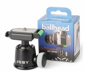 Ball Head with Quick Release Adapter for Gorillapod SLR-Zoom/Focus or Standard Tripods