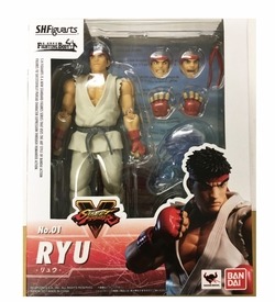 "BAN05193: Bandai Tamashii S.H. Figuarts RYU ""Street Fighter V"" Action Figure"